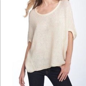 Free People Stardust Sequin Sweater